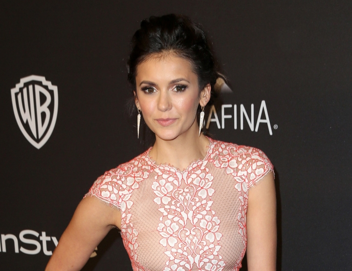 "FILE - In this Jan. 10, 2016 file photo, Nina Dobrev arrives at the InStyle and Warner Bros. Golden Globes afterparty in Beverly Hills, Calif. The CW president, Mark Pedowitz, says the network is in talks with Nina Dobrev about returning for ""The Vampire Diaries"" series finale. It was announced in July that the series would end after its upcoming eighth season. (Photo by Matt Sayles/Invision/AP, File)"