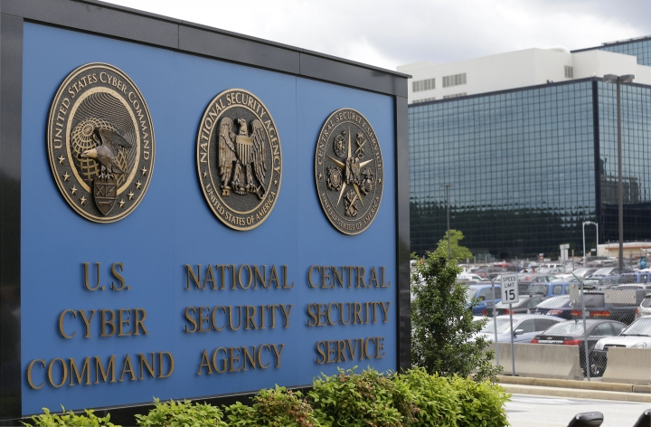 FILE - In his June 6, 2013 file photo, the National Security Agency (NSA) campus in Fort Meade, Md. The leak of what purports to be a National Security Agency hacking tool kit has set the information security world atwitter — and sent major companies rushing to update their defenses. Experts across the world are still examining what amount to electronic lock picks. Here's what they've found so far. (AP Photo/Patrick Semansky, File)