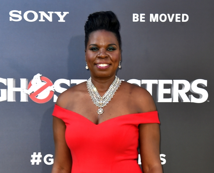 "FILE - In this July 9, 2016 file photo, actress Leslie Jones arrives at the Los Angeles premiere of ""Ghostbusters."" (Photo by Jordan Strauss/Invision/AP, File)"