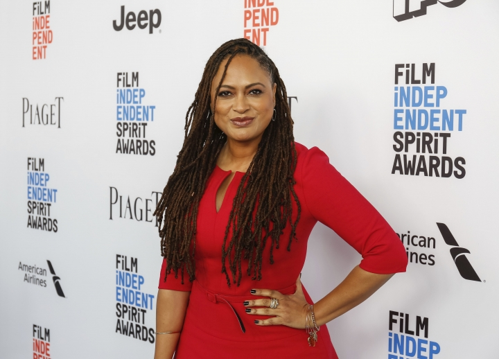 FILE - This Jan. 7, 2017 file photo shows director Ava DuVernay at the 2017 Film Independent Filmmaker Grant and Spirit Award Nominees Brunch in West Hollywood, Calif. A new study finds that just 7 percent of the 250 highest-grossing films of 2016 were directed by women. In recent years, gender inequality in Hollywood has drawn increased scrutiny, including an ongoing investigation by the federal Equal Employment Opportunity Commission. (Photo by Willy Sanjuan/Invision/AP, File)