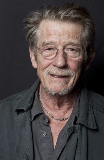 "File- This Sept. 6, 2011, file photo shows British actor John Hurt posing for portraits at the Venice Film Festival Movie Star Lounge after interviews for the film ""Tinker Tailor Soldier Spy,"" during the 68th edition of the Venice Film Festival in Venice, Italy. The great and versatile actor Sir John Hurt, who could move audiences to tears in ""The Elephant Man,"" terrify them in ""Alien,"" and spoof that very same scene in ""Spaceballs,"" has died at age 77. Hurt, who battled pancreatic cancer, passed away Friday, Jan. 27, 2017, in London according to his agent Charles McDonald. (AP Photo/Joel Ryan, File)"