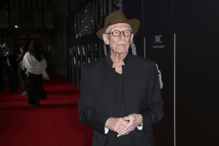 "File - This Oct. 6, 2015, file photo shows John Hurt posing for photographers upon arrival at the BFI Luminous Gala Dinner in London. The great and versatile actor Sir John Hurt, who could move audiences to tears in ""The Elephant Man,"" terrify them in ""Alien,"" and spoof that very same scene in ""Spaceballs,"" has died at age 77. Hurt, who battled pancreatic cancer, passed away Friday, Jan. 27, 2017, in London according to his agent Charles McDonald. (Photo by Joel Ryan/Invision/AP, File)"