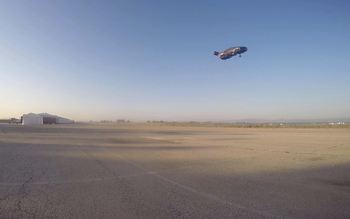 This image provided by Urban Aeronautics/Tactical Robotics shows an Israeli-made flying car. Urban Aeronautics conducted flight tests of its passenger-carrying drone call the Cormorant in Megiddo, Israel, late in 2016. The company says the aircraft can fly between buildings and below power lines, attain speeds up to 115 mph, stay aloft for an hour and carry up to 1,100 pounds. (Urban Aeronautics/Tactical Robotics via AP)
