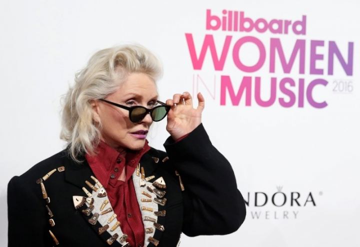 Debbie Harry poses on the red carpet a the Billboard Magazine's 11th annual Women in Music luncheon in New York December 9, 2016.  REUTERS/Shannon Stapleton