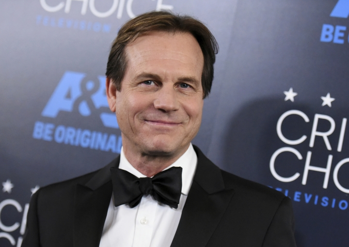 """FILE - In this May 31, 2015, file photo, Bill Paxton arrives at the Critics' Choice Television Awards at the Beverly Hilton hotel in Beverly Hills, Calif. A family representative said prolific and charismatic actor Paxton, who played an astronaut in """"Apollo 13"""" and a treasure hunter in """"Titanic,"""" died from complications due to surgery. The family representative issued a statement Sunday, Feb. 26, 2017, on the death. (Photo by Richard Shotwell/Invision/AP, File)"""