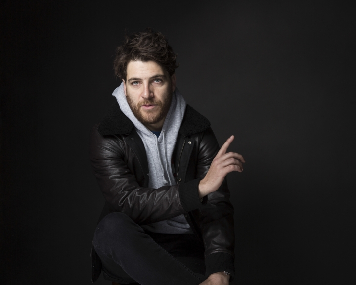 "FILE - In this Jan. 22, 2017, file photo, actor Adam Pally poses for a portrait to promote the film, ""Band Aid"", at the Music Lodge during the Sundance Film Festival in Park City, Utah. Pally was arrested on drug charges in New York on March 28, 2017. Pally's representative didn't immediately return a request for comment. (Photo by Taylor Jewell/Invision/AP, File)"