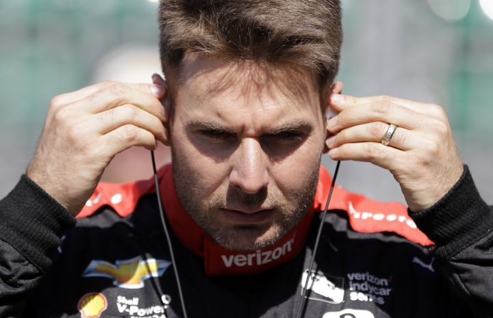 Will Power, of Australia, prepares to drive during a practice session for the Indianapolis 500 IndyCar auto race at Indianapolis Motor Speedway, Tuesday, May 16, 2017 in Indianapolis. (AP Photo/Darron Cummings)