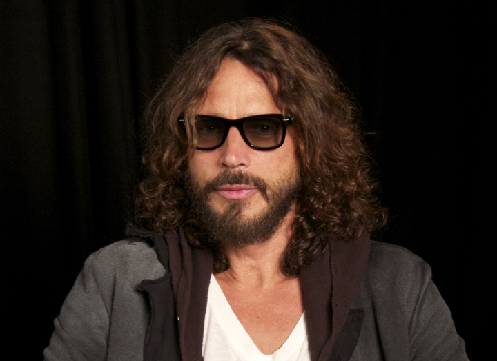 FILE - In this Sept. 23, 2011, file photo, musician Chris Cornell is shown in New York. According to his representative, rocker Chris Cornell, who gained fame as the lead singer of Soundgarden and later Audioslave, has died Wednesday night in Detroit at age 52. (AP Photo/John Carucci, File)