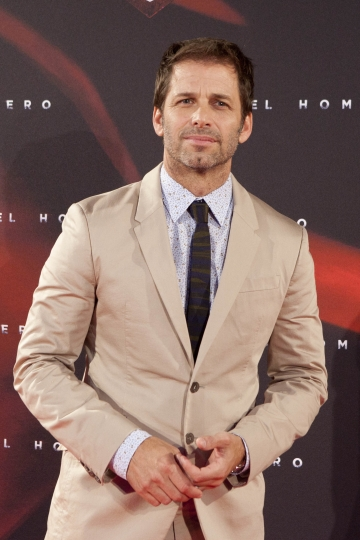 "FILE - In this June 17, 2013 file photo, director Zack Snyder attends spanish premiere of the film ""Man of Steel"" in Madrid. The recent death of director Zack Snyder's daughter has driven the prominent filmmaker to step away from finishing the ensemble superhero movie ""Justice League."" Warner Bros. Pictures president Toby Emmerich said on Monday, May 22, 2017, that director Joss Whedon would take over the post-production process for the film, which should stay on track for a Nov. 17 release. (AP Photo/Abraham Caro Marin, File)"