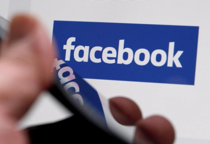 FILE PHOTO: The Facebook logo is displayed on the company's website in an illustration photo taken in Bordeaux, France on February 1, 2017. REUTERS/Regis Duvignau/File Photo
