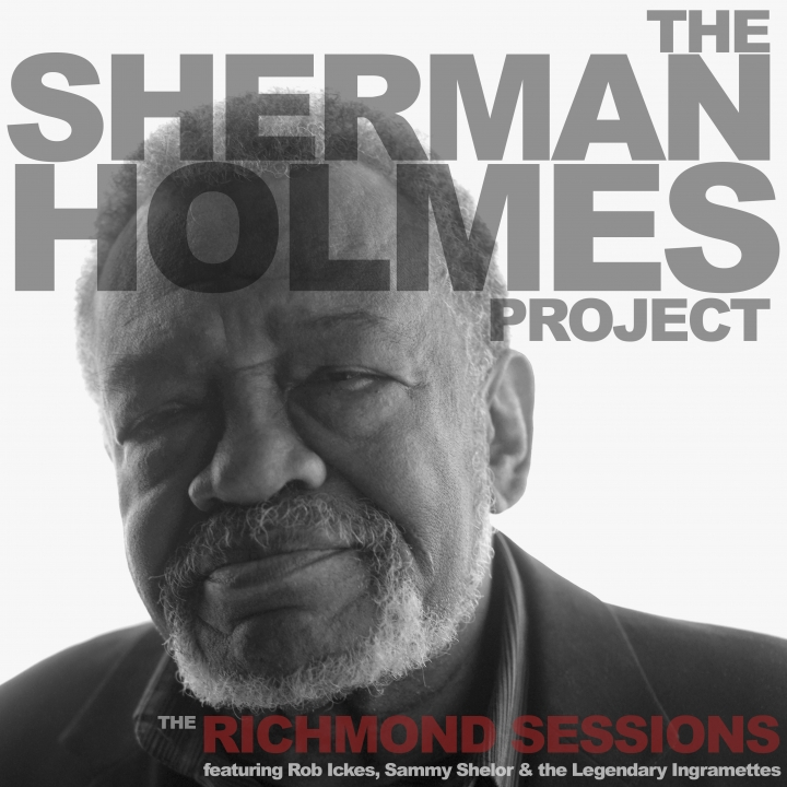 "This cover image released by M.C. Records shows ,""The Richmond Sessions,"" a release by Sherman Holmes. (M.C. Records via AP)"