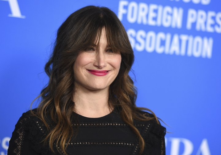 Kathryn Hahn arrives at the Hollywood Foreign Press Association Grants Banquet at the Beverly Wilshire Hotel on Wednesday, Aug. 2, 2017, in Beverly Hills, Calif. (Photo by Jordan Strauss/Invision/AP)