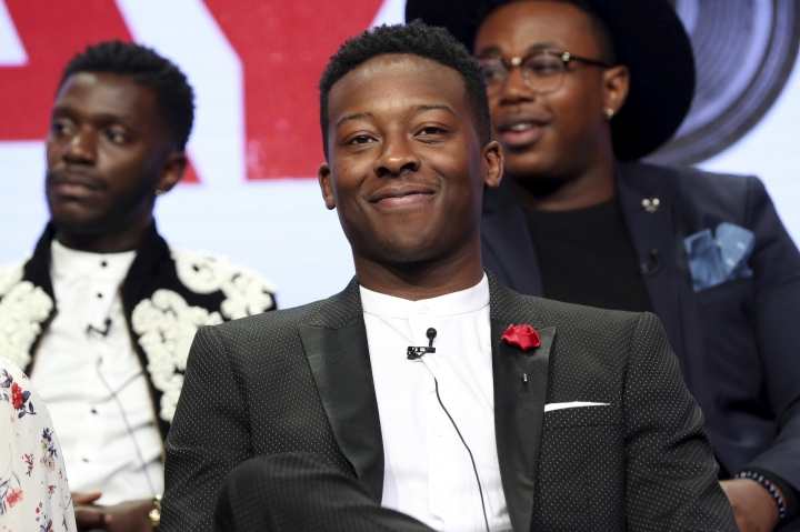 "Brandon Micheal Hall participates in the ""The Mayor"" panel during the Disney ABC Television Critics Association Summer Press Tour at the Beverly Hilton on Sunday, Aug. 6, 2017, in Beverly Hills, Calif. (Photo by Willy Sanjuan/Invision/AP)"