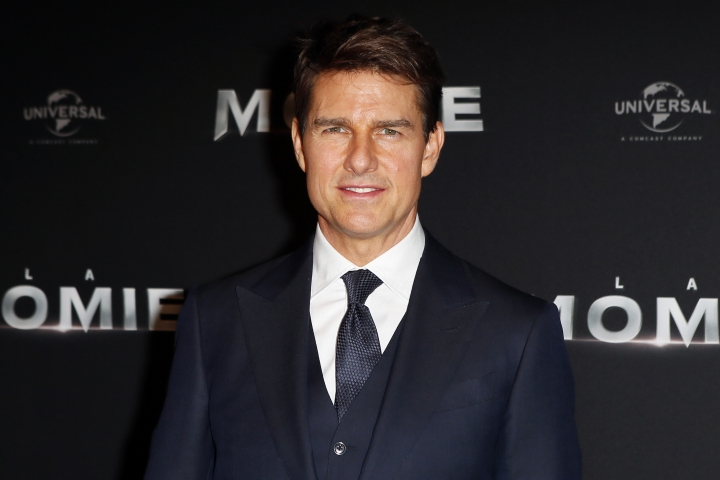 "FILE - In this Tuesday, May 30, 2017, file photo, Tom Cruise poses during a photocall for the French premiere of ""The Mummy"" in Paris, France. Production has shut down on ""Mission: Impossible 6"" due to Cruise's broken ankle. Paramount Pictures said Wednesday, Aug. 16, 2017, that production will go on hiatus while Cruise makes a full recovery. Cruise broke his ankle while performing a stunt for the film during its London-based shoot. (AP Photo/Francois Mori, File)"