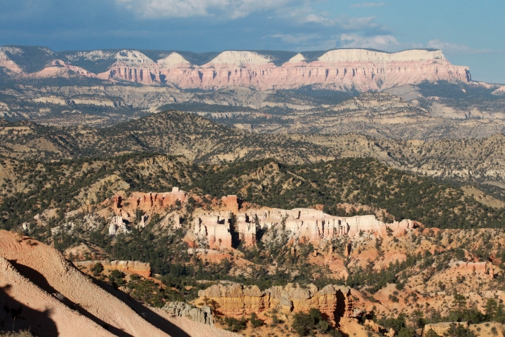 FILE- In this Aug. 15, 2014, file photo, Bryce Canyon National Park is shown in Bryce Canyon, Utah. The U.S. federal government announced Wednesday, Aug. 16, 2017, that it will eliminate a policy it put in place to allow national parks like Bryce Canyon to ban the sale of bottled water in an effort to curb litter. (AP Photo/Rick Bowmer, file)
