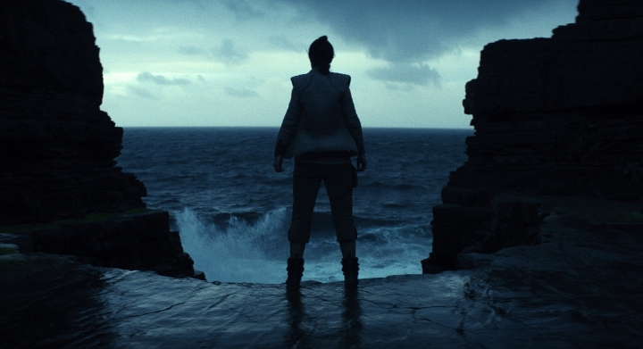 "This image released by Lucasfilm shows a scene from the upcoming ""Star Wars: The Last Jedi,"" expected in theaters in December. Fans are about to get a glimpse at a new character as a part of a three-day marketing roll out of toys and products inspired by the film. The global event, dubbed Force Friday II, will run from Sept. 1 through Sept. 3. (Industrial Light & Magic/Lucasfilm via AP)"
