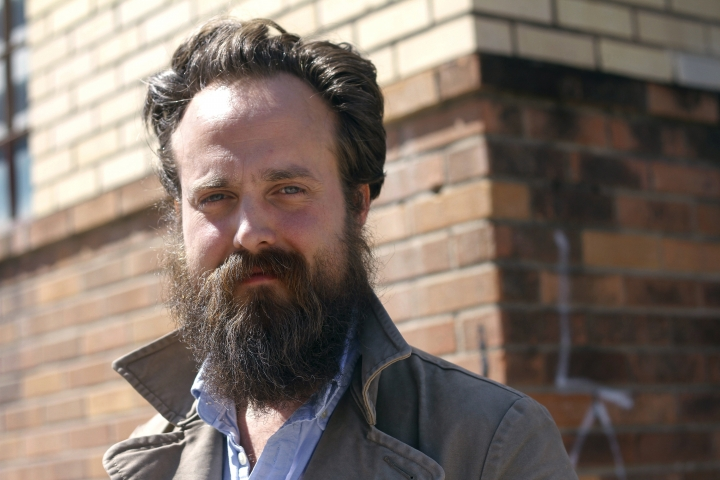 "FILE - This March 14, 2013, file photo shows Sam Beam, of Iron & Wine, during the SXSW Music Festival in Austin, Texas. Beam has returned both to the Sub Pop label where his career started and the warm, acoustic sound of his early material. His sixth album ""Beast Epic"" comes out Friday, Aug. 25, 2017. (Photo by Jack Plunkett/Invision/AP, File)"