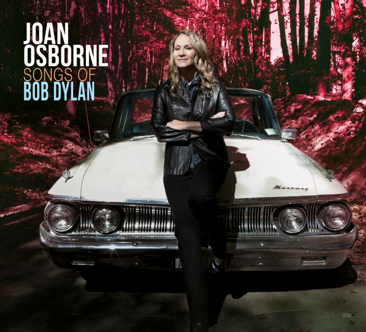 """This image released by Womanly Hips Records shows """"Songs of Dylan,"""" by Joan Osborne. (Womanly Hips Records via AP)"""