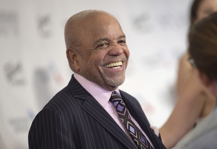"FILE - In a Thursday, June 15, 2017 file photo, Berry Gordy attends the the 48th Annual Songwriters Hall of Fame Induction and Awards Gala at the New York Marriott Marquis Hotel in New York. The public will be able to celebrate Detroit's musical history by taking part in an estate sale and live global auction of the contents of the ""Motown Mansion"", once owned by Gordy, in early October, 2017. (Photo by Evan Agostini/Invision/AP, File)"