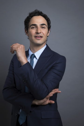 """This July 31, 2017 photo shows Zac Posen posing for a photo to promote his new documentary, """"House of Z"""" in New York. (Photo by Amy Sussman/Invision/AP)"""