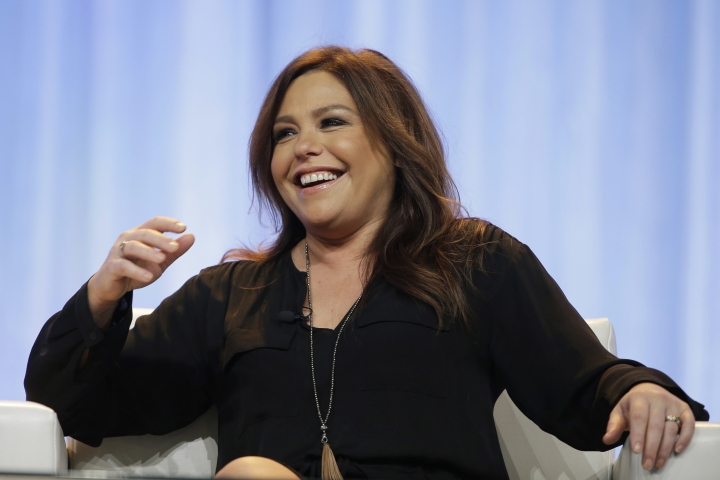 FILE - In this Thursday, Nov. 19, 2015, file photo, Rachael Ray speaks at the Pennsylvania Conference for Women in Philadelphia. Ray listed her home in the Hamptons for sale for nearly $5 million. (AP Photo/Matt Rourke, File)