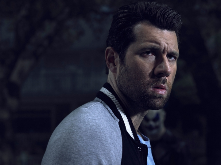 "This image released by FX shows Billy Eichner as Harrison Wilton in ""American Horrow Story: Cult. (Frank Ockenfels/FX via AP)"