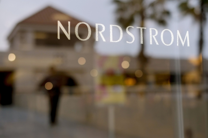 FILE - In this May 9, 2013, file photo a Nordstrom sign is seen at a shopping mall in Brea, Calif. Nordstrom announced Monday, Sept. 11, 2017, that it will open a concept store in Los Angeles next month that doesn't have any inventory on site. (AP Photo/Jae C. Hong, File)
