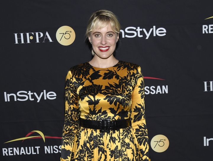 Actress Greta Gerwig attends the InStyle/HFPA Party on day 3 of the Toronto International Film Festival at the Windsor Arms Hotel on Saturday, Sept. 9, 2017, in Toronto. (Photo by Evan Agostini/Invision/AP)