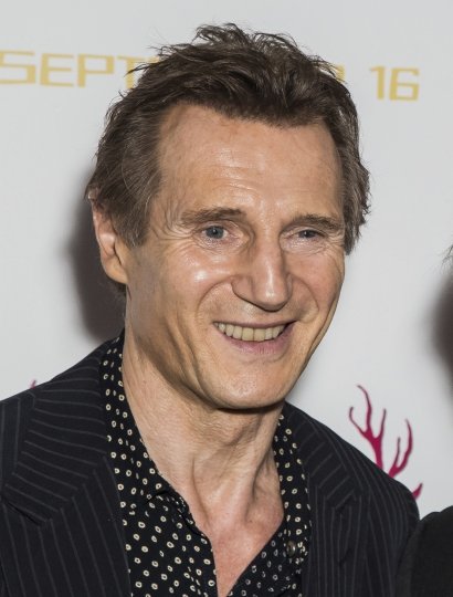 """FILE - In this Sept. 13, 2016 file photo, actor Liam Neeson appears at the premiere of the film """"Hunt For The Wilderpeople"""" in London. Neeson says he's finished making thrillers. In an interview, he said that while """"they're still throwing serious money at me"""" to do films in the mold of """"Taken,"""" he plans to stop. The 65-year-old actor says he's too old for those films and that audiences will eventually not buy him as an action hero. (Photo by Vianney Le Caer/Invision/AP, File)"""