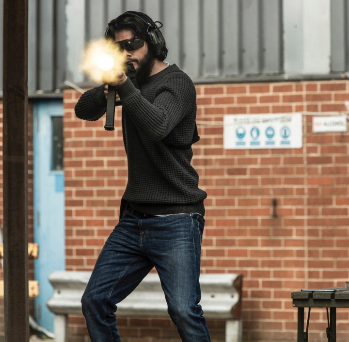 "This image released by Lionsgate shows Dylan O'Brien in a scene from, ""American Assassin."" (Christian Black/Lionsgate via AP)"