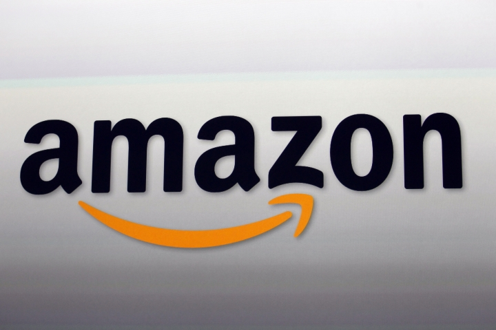FILE - This Sept. 6, 2012, file photo shows the Amazon logo in Santa Monica, Calif. Kohl's, which is opening some in-store Amazon shops, will start accepting returns for the online retailer at some of its stores in Los Angeles and Chicago starting in October 2017. (AP Photo/Reed Saxon, File)