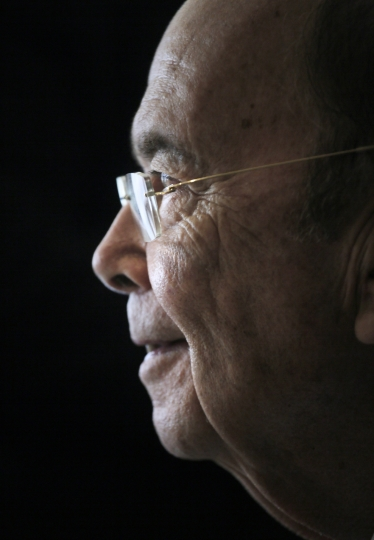 """U.S. Commerce Secretary Wilbur Ross attends a press conference in Hong Kong, Wednesday, Sept. 27, 2017. Ross said Wednesday that the Trump administration's priorities as it prepares to tackle bigger and """"more difficult"""" trade issues with China are better market access, less protectionism and protecting intellectual property rights. (AP Photo/Vincent Yu)"""