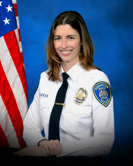 This undated official photo provided by the Manhattan Beach, Calif., Police Department shows Rachael Parker, a police records technician for the department. Parker was one of those listed as killed in the mass shooting in Las Vegas, Sunday, Oct. 1, 2017. (Manhattan Beach Police Department via AP)