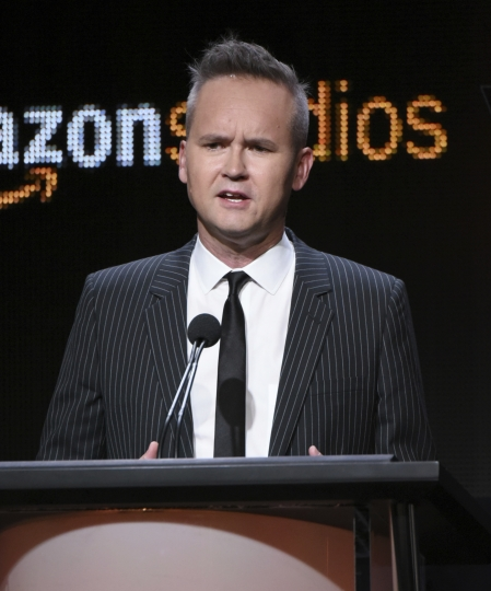 "FILE - In this Aug. 3, 2015 file photo, Roy Price, head of Amazon Studios, participates in the ""Hand of God"" panel at the Amazon Summer TCA Tour at the Beverly Hilton Hotel in Beverly Hills, Calif. Amazon says Price is on leave following allegations of sexual harassment. In a statement Thursday, Oct. 12, 2017, Amazon says Price's leave of absence is effective immediately. The decision came hours after The Hollywood Reporter published a producer's detailed claims of harassment by Price. (Photo by Richard Shotwell/Invision/AP, File)"