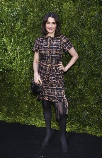 Actress Rachel Weisz attends the Through Her Lens: The Tribeca Chanel Women's Filmmaker Program Luncheon at Locanda Verde on Tuesday, Oct. 17, 2017, in New York. (Photo by Evan Agostini/Invision/AP)