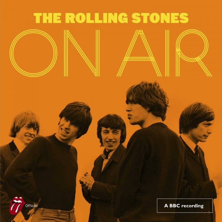 "This cover image released by Interscope shows ""On Air,"" by The Rolling Stones. (Interscope via AP)"