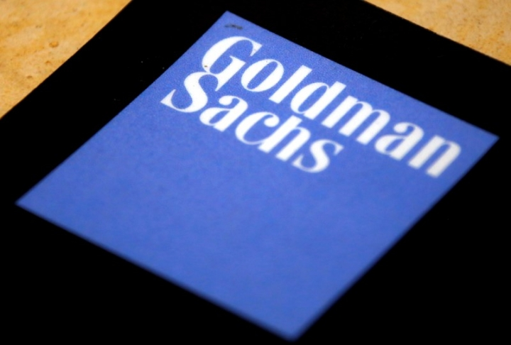 FILE PHOTO - The logo of Goldman Sachs is displayed in their office located in Sydney, Australia, May 18, 2016.    REUTERS/David Gray/File Photo