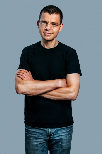 "This photo provided by Affirm shows PayPal co-founder Max Levchin. Levchin thinks the pace of innovation is progressing well, considering the banking industry is the most regulated this side of health care. But he considers the speculation around bitcoin to be ""the elephant in the room."" He also thinks massive computer hacking attacks are threatening to reduce society's trust in technology. (Affirm via AP)"
