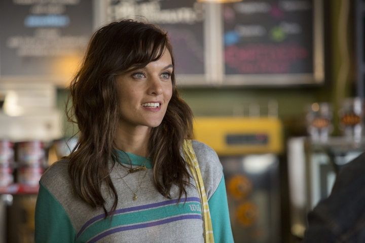 "In this image released by Showtime, Frankie Shaw appears in a scene from, ""SMILF."" Shaw was nominated for a Golden Globe award for best actress in a musical or comedy series or motion picture made for TV on Monday, Dec. 11, 2017. The 75th Golden Globe Awards will be held on Sunday, Jan. 7, 2018 on NBC. (Claire Folger/Showtime via AP)"