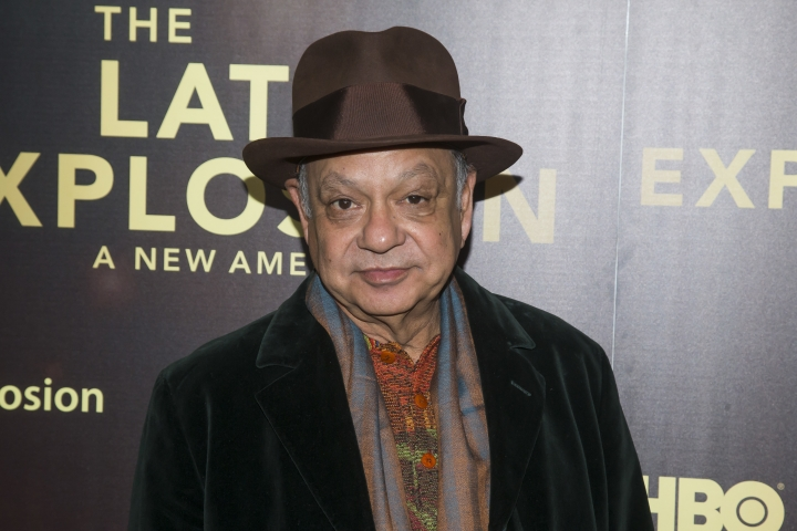 "FILE - In this Nov. 10, 2015 file photo, Cheech Marin attends the premiere of the HBO documentary, ""The Latin Explosion: A New America"", in New York. Comedian and legendary stoner Marin performs in a new public service announcement publicizing a California Secretary of State website for budding marijuana entrepreneurs. California on Friday, Dec. 15, 2017, began accepting applications from businesses that want to operate in the state's legal recreational marijuana industry next year. (Photo by Ben Hider/Invision/AP, File)"