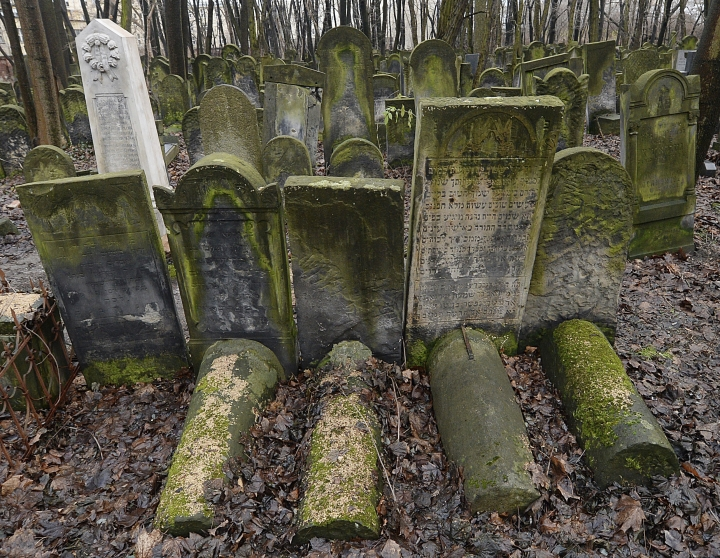 This photo shows gravestones at the Jewish Cemetery on Okopowa Street in Warsaw, Poland, Friday Dec. 22, 2017. The Polish government is donating 100 million zlotys (US$ 28 million) to preserve the cemetery. (AP Photo/Czarek Sokolowski)