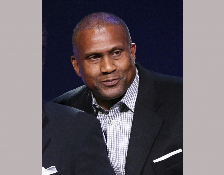 "FILE - In this April 27, 2016 file photo, Tavis Smiley appears at the 33rd annual ASCAP Pop Music Awards in Los Angeles. Less than a month after PBS dropped Tavis Smiley's talk show because of inappropriate relationships with subordinates, Smiley announced a deal Monday, Jan. 8, 2018, for a new series about inspirational stories titled, ""The Upside with Tavis Smiley."" It will be distributed digitally and also shown on The Word Network, a cable and satellite network with religious programming aimed at an African-American audience. (Photo by Rich Fury/Invision/AP, File)"