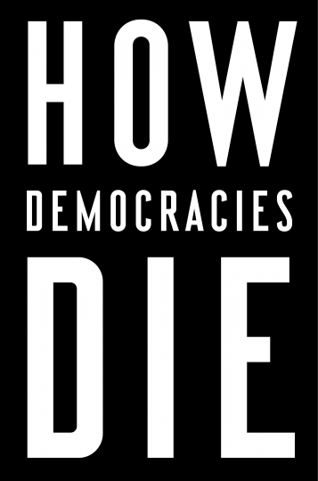 "This cover image released by Crown shows, ""How Democracies Die,"" written by Steven Levitsky and Daniel Ziblatt, released Jan. 16. (Crown via AP)"
