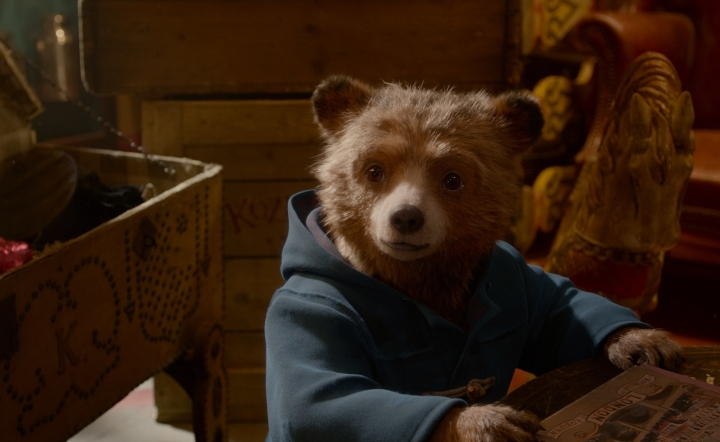 "This image released by Warner Bros. Pictures shows the character Paddington, voiced by Ben Whishaw, in a scene from "" Paddington 2."" (Warner Bros. Pictures via AP)"