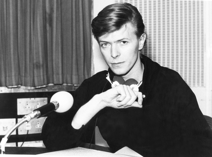 "This image released by HBO shows the late music legend David Bowie in a scene from the documentary, ""David Bowie:The Last Five Years,"" which debuted Jan. 8 on HBO. ( Jimmy King/ HBO via AP)"