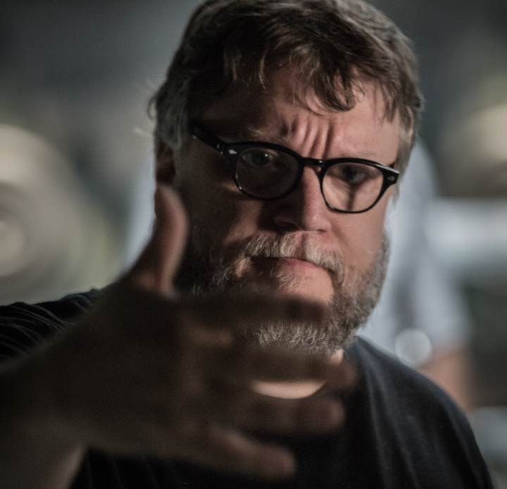 "This image released by Fox Searchlight Pictures shows director Guillermo del Toro on the set of ""The Shape of Water."" Del Toro is nominated for outstanding directorial achievement by the Directors Guild of America for his direction on the Cold War fantasy tale. (Kerry Hayes/Fox Searchlight Pictures via AP)"