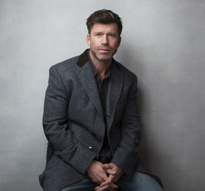 """FILE - In this Jan. 21, 2017 file photo, director Taylor Sheridan poses for a portrait to promote the film, """"Wind River,"""" during the Sundance Film Festival in Park City, Utah. Sheridan is nominated for the Directors Guild of America Award for outstanding directorial achievement of a first-time feature film director. (Photo by Taylor Jewell/Invision/AP, File)"""