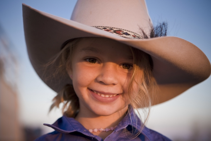 "This photo taken in 2009 and provided by Akubra Hats, shows Amy ""Dolly"" Everett in Brunette Downs in the Northern Territory, Australia. Hundreds of people are remembering Dolly who was known as the angelic face of the Australian bushmen's hat brand and whose family says she killed herself after being targeted by cyberbullying. A memorial service for Dolly was held in the tiny Northern Territory town of Katherine on Friday, Jan. 12, 2018 near her family's cattle ranch. (Akubra Hats via AP)"