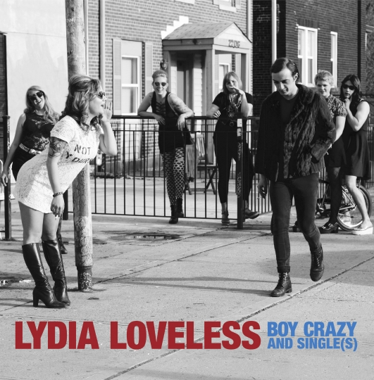 """This cover image released by Bloodshot Records shows """"Boy Crazy and Single(s)"""" by Lydia Loveless. (Bloodshot Records via AP)"""