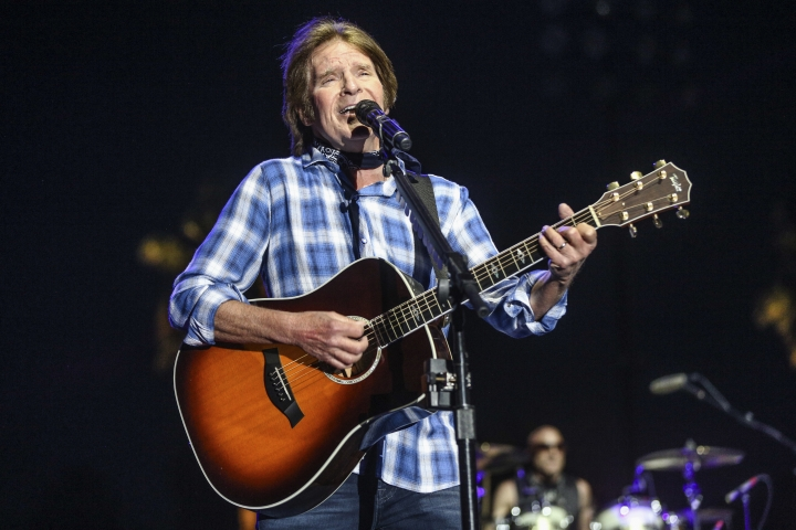 "FILE - In this April 30, 2016 file photo, John Fogerty performs at the 2016 Stagecoach Festival in Indio, Calif. Fogerty said in a statement released Thursday, Jan. 11, 2018, that he's annoyed that Taraji P. Henson's new film, ""Proud Mary,"" borrows from his popular song's name without his involvement. (Photo by Rich Fury/Invision/AP, File)"